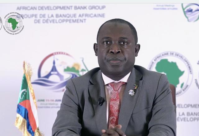 Comoros' Governor statement - English subtitle