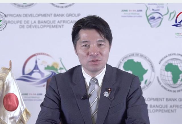 Japan's Governor statement - English subtitle