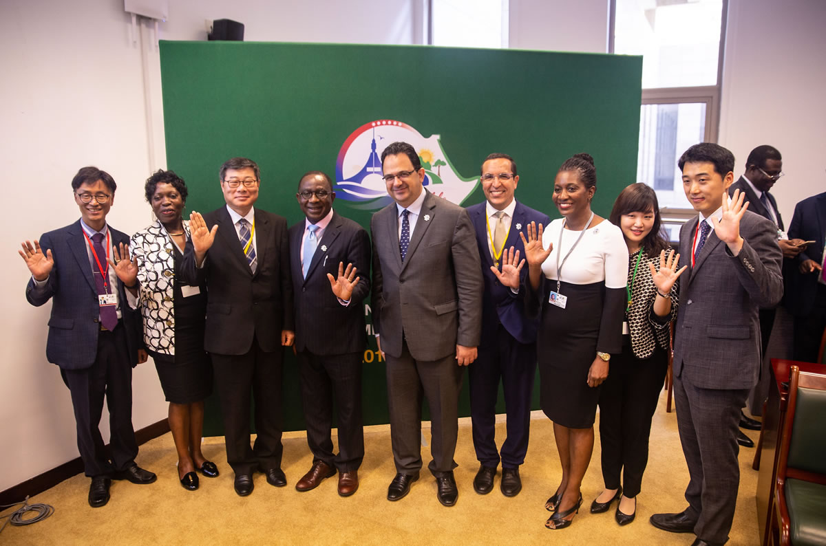 African Development Bank showcases impact of Korean drone technology on agricultural productivity