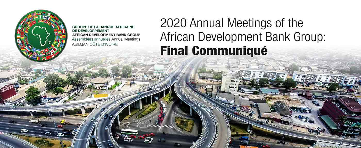 2020 Annual Meetings of the African Development Bank Group: Final Communiqué