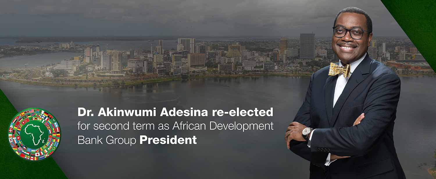 Dr. Akinwumi Adesina re-elected unanimously as President of the African Development Bank Group