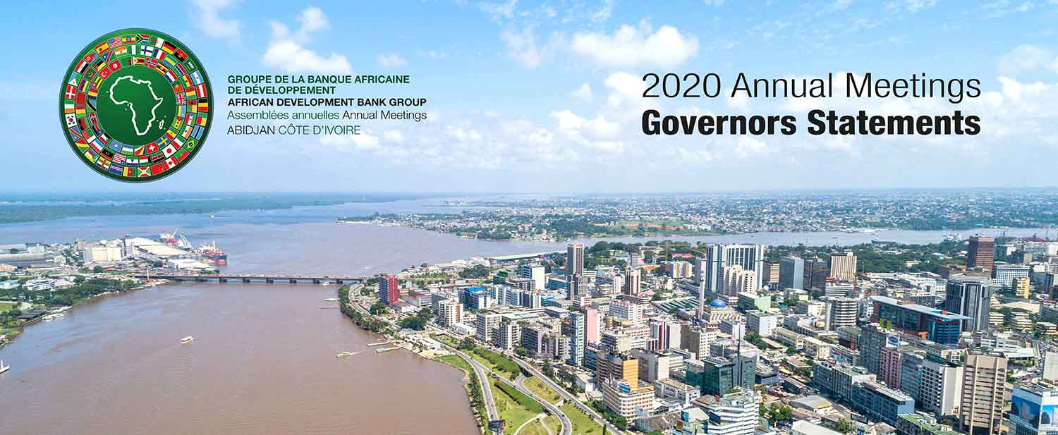 2020 Annual Meetings Governors Statements