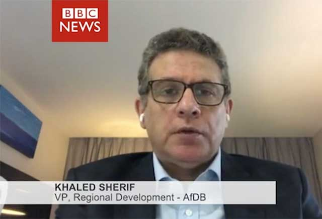 BBC Interview with African Development Bank VP Khaled Sherif on Bank's response and SMEs support during pandemic